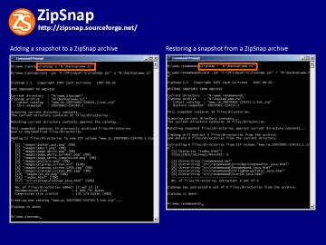 ZipSnap screenshot